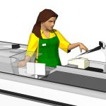 View Larger Image of Female Cashiers