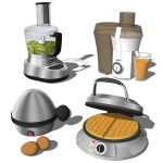 Kitchen Appliances 03. Set includes an Egg boiler,...