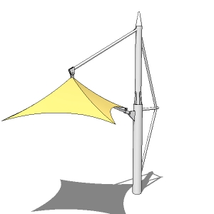 Tensile Structures 1 4 3d Model Formfonts 3d Models