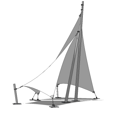 Tensile Structures 5 8 3d Model Formfonts 3d Models