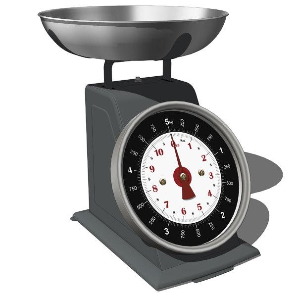 Kitchen Scales With Bowls Mechanical And Digital