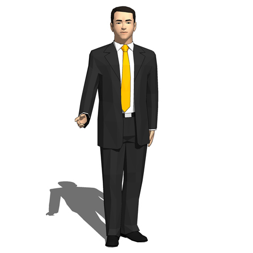 Executives 10 3d Model Formfonts 3d Models Amp Textures