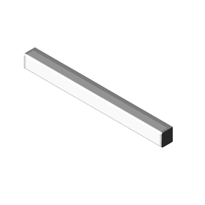 Wall Mounted Light Revit Family : Light Wall Mounted HP Series Linear Coronet 3D Model - FormFonts 3D Models & Textures