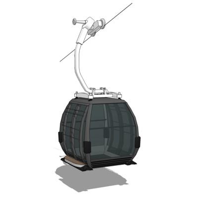 Ski Lift Gondola 3d Model Formfonts 3d Models Amp Textures