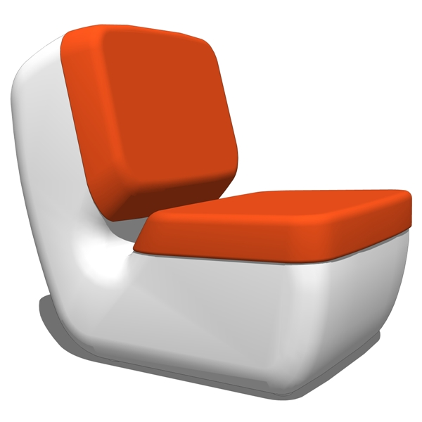 Nimrod Low Chair by Magis. Designed by Marc Newson....