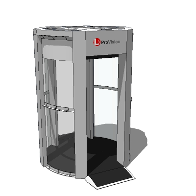 Whole body security scanner.