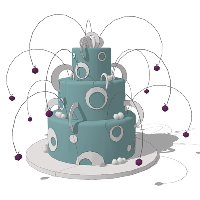 Aircraft Wedding Cake