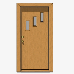 Crestview Doors 7 3D Model & Crestview Doors 7 3D Model - FormFonts 3D Models \u0026 Textures
