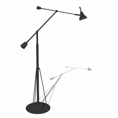 Counterpoise task floor lamp 3d model formfonts 3d models textures counterpoise task floor lamp by restoration hardwa aloadofball Images
