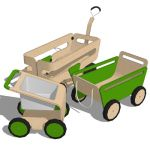 A wonderful set of kids equipment, the Kaiku colle...
