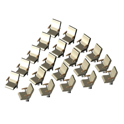 FurnitureSystems BIM object Chair Array Radial 506....