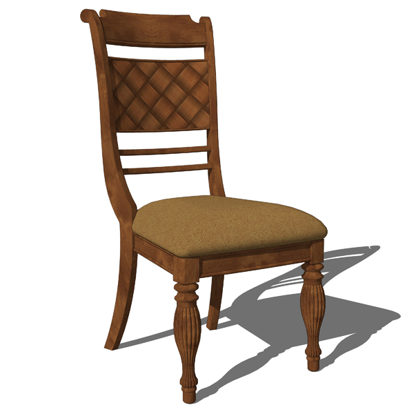 Traditional Dining set includes the dining chair a....