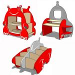 Space store children furniture by GioSto