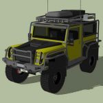 Falcon F5E off-road utility vehicle, features remo...