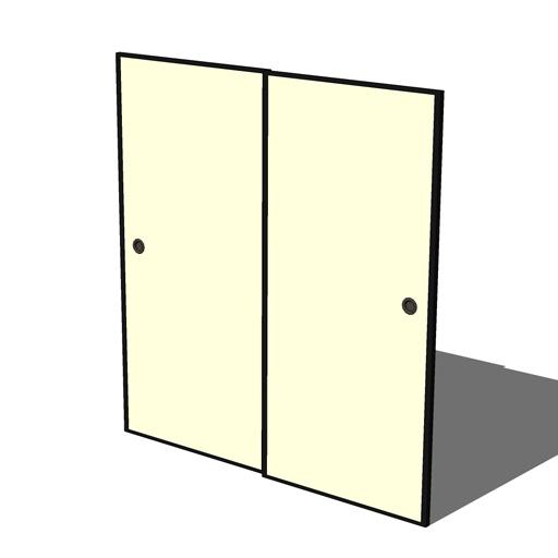 Fusuma Sliding Doors 3D Model  sc 1 st  FormFonts & Fusuma Sliding Doors 3D Model - FormFonts 3D Models \u0026 Textures