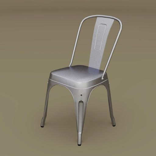 Marais A Chair 3D Model FormFonts 3D Models Textures