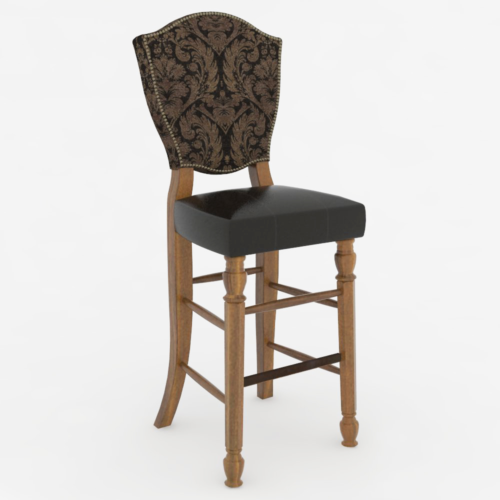 Traditional Bar Stool 02 3D Model FormFonts 3D Models  : traditional bar stoolFFModelID141781TraditionalBarStool02FMH9714 from www.formfonts.com size 1000 x 1000 jpeg 230kB