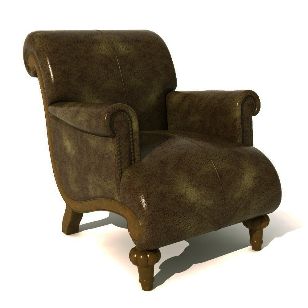 Traditional Armchair 05..