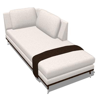 Linea Fugue Seating 1 3d Model Formfonts 3d Models