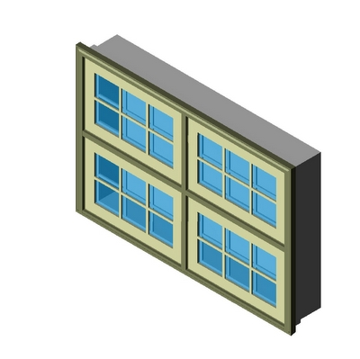 Window Push Out Awning 2wx2h Kolbe 3d Model Formfonts 3d