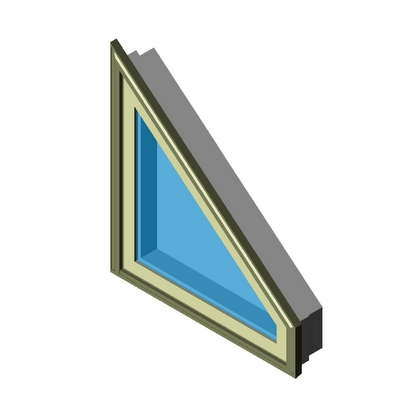 Window casement trapezoid 4 side sash set kolbe 3d model for Window object