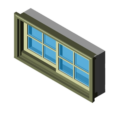 Window slider double kolbe 3d model formfonts 3d models for Window object