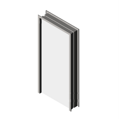 All door and frame internal components are stainle....