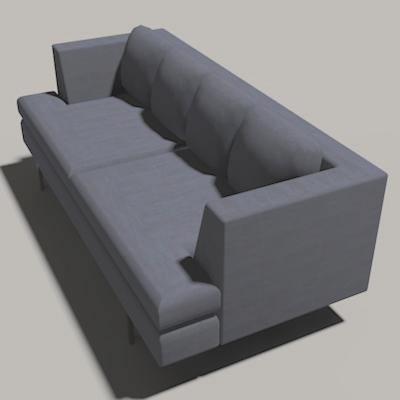 The Ed sofa is handmade and provides maximum comfo....
