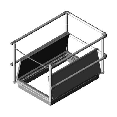 RoofHatch RHSR DL 10232 SafetyRailSource 3D Model ...