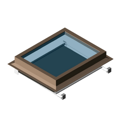 Skylight Rectangular With Shade Skyco 3D Model - FormFonts ...