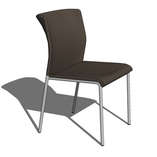 Modern family room furniture - Keilhauer Flit Chairs 3d Model Formfonts 3d Models Amp Textures