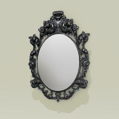 Lowpoly Rococo Mirror 3d Model Formfonts 3d Models