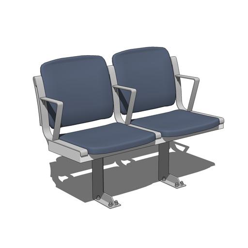 Stadium Seats 3d Model Formfonts 3d Models Amp Textures