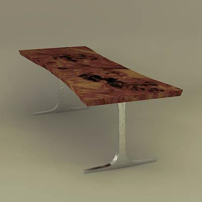 Hudson Tables 3D Model