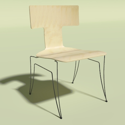 anziano stackable chair 3d model formfonts 3d models textures