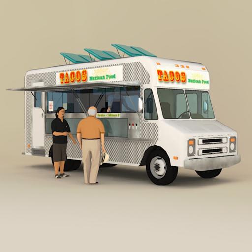 Bedroom furniture names - Catering Truck 3d Model Formfonts 3d Models Amp Textures