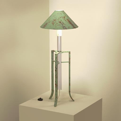 J Saladino Tube Lamp 3d Model Formfonts 3d Models Amp Textures