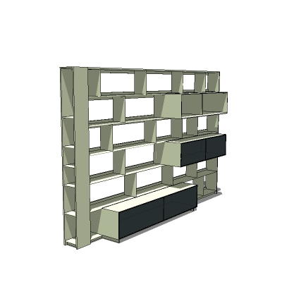 Flat C shelving by B&B Italia. Models fc0906, ....