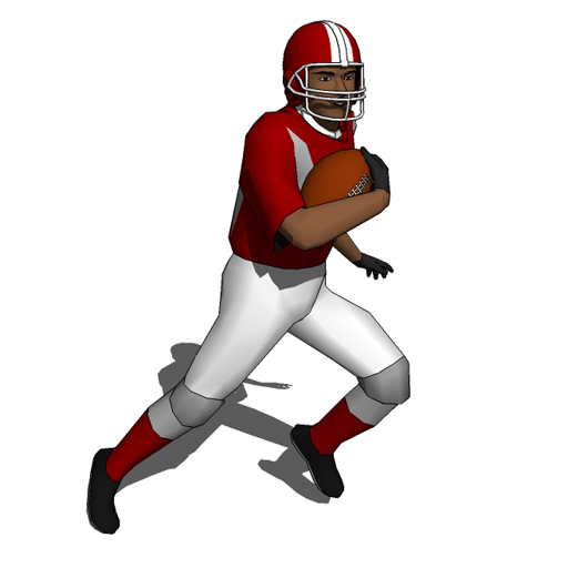 Football Players 10 3d Model Formfonts 3d Models Amp Textures