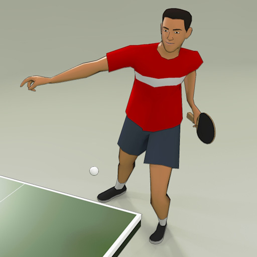 Table Tennis Players 3d Model Formfonts 3d Models Amp Textures