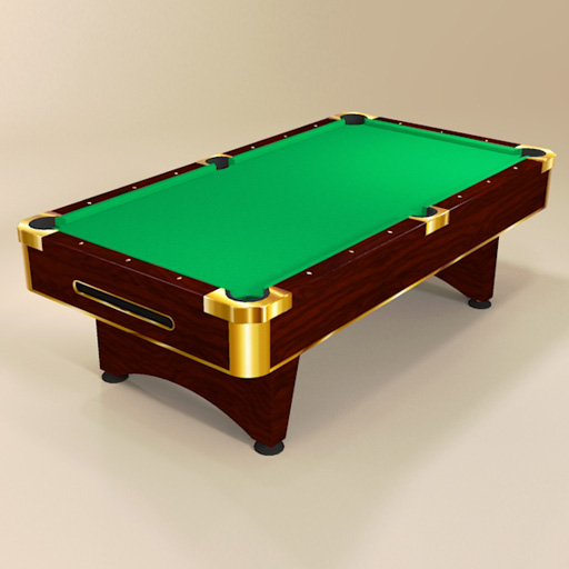 billiard pool tables 3d model formfonts 3d models textures. Black Bedroom Furniture Sets. Home Design Ideas