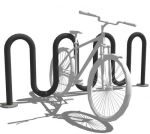 Steel Bicycle parking for 