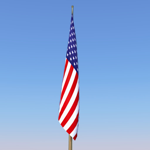 Hd Us Flag Set 3d Model Formfonts 3d Models Amp Textures