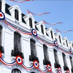 Patriotic decoration for special 