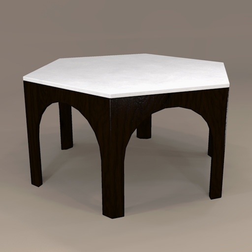 Dining Table Models moroccan dining table 3d model - formfonts 3d models & textures