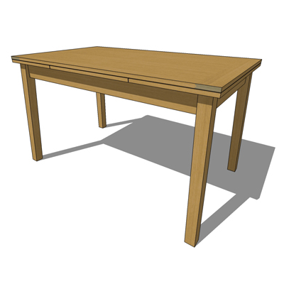 Ruskin Extending Dining Table By Habitat Designed