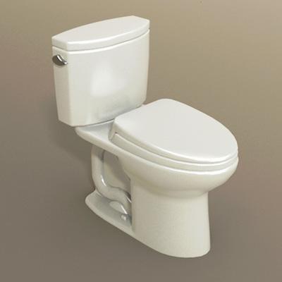 Toto drake ii toilet 3d model formfonts 3d models textures - Toilet model ...