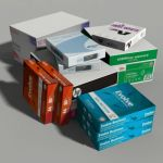 Here is a set of copier paper reams and copier pap...