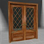 View Larger Image of Mahogany French Doors