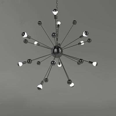 Sputnik Lighting 3d Model Formfonts 3d Models Amp Textures